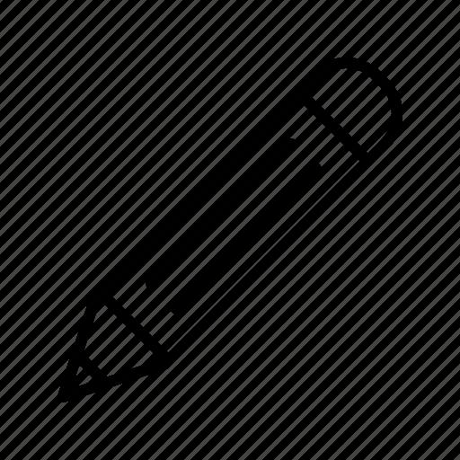 Draw Edit Geometry Pencil Stationary Write Writing Icon