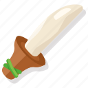 caveman, flint, knife, prehistoric, stone, tribal, weapon icon