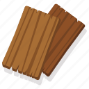 board, forest, plank, timber, wild, wood, wooden icon