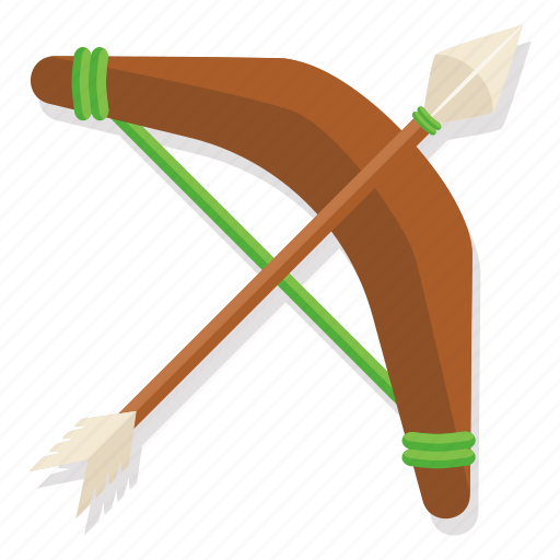 archer, arrow, bow, hunt, hunter, tribal, weapon icon