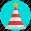confetti cones, caps, hats, popper, festival, event, party