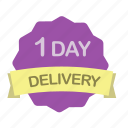 day, delivery, guarantee, shipping icon