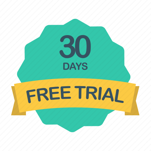 day, days, free, guarantee, label, plan, trial icon