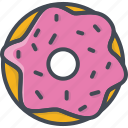 bakery, doughnut, food, sweets icon