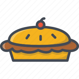 bakery, food, pie, sweets icon
