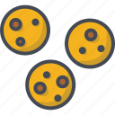 bakery, cookies, food, sweets icon