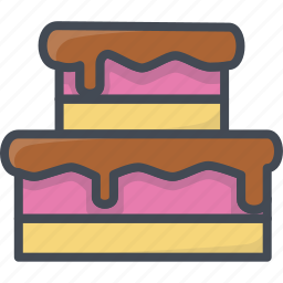 bakery, cake, food, sweets icon