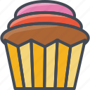 bakery, cupkace, food, sweets icon