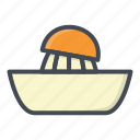 breakfast, food, juice, juicer, orange icon