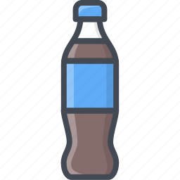bottle, coke, drinks, food, pepsi icon