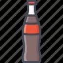 coke, drinks, food, glass icon