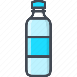 bottle, drinks, food, water icon