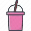 drinks, food, milk, shake icon