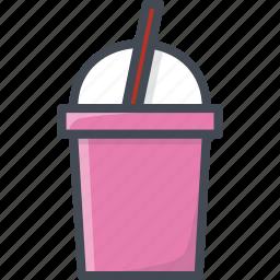 drinks, food, milk, shake icon