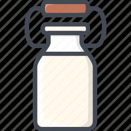 drinks, food, milk icon