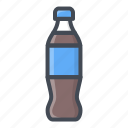 bottle, coke, drinks, food, pepsi, sticker icon