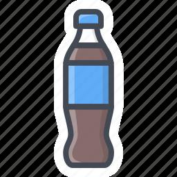 bottle, coke, drinks, food, pepsi, sticker icon
