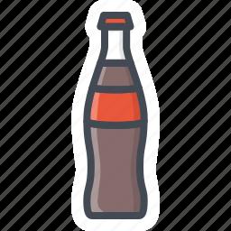 coke, drinks, food, glass, pepsi, sticker icon