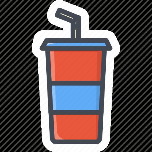 coke, drinks, food, pepsi, sticker icon