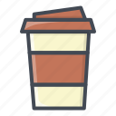 coffee, drinks, food, stickers icon