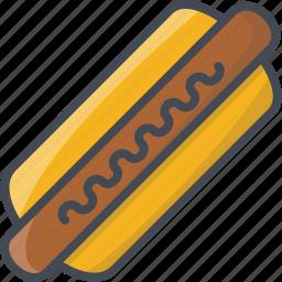 fastfood, food, hot dog icon