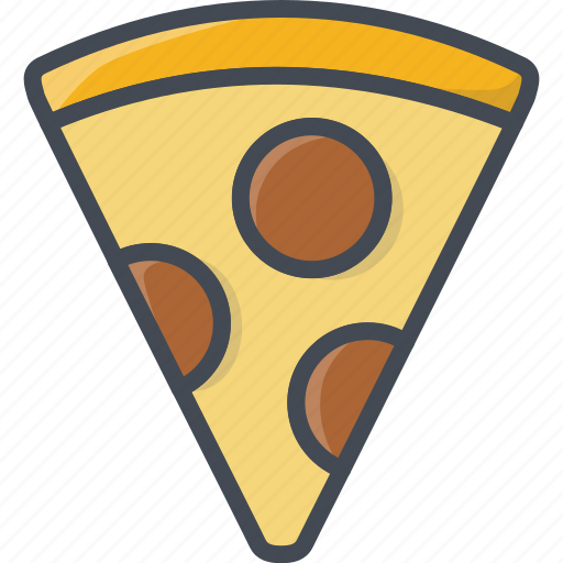 fastfood, food, pizza, slice icon