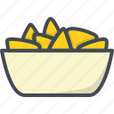 cheese, fastfood, food, nachos icon