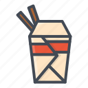 fastfood, food, noodle icon