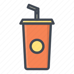 drink, fastfood, food, stickers icon