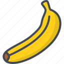 banana, food, fruits icon