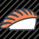 food, seafood, shrimp, sushi icon
