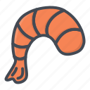 food, seafood, shrimp icon