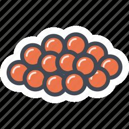 caviar, food, seafood icon