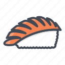 food, seafood, shrimp, sushi icon