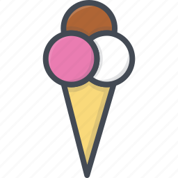 food, ice cream, sweets icon