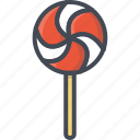 food, lollipop, sweets icon