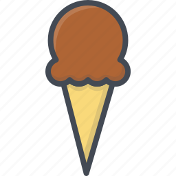 food, ice cream, sweets icon