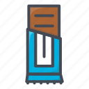 chocoalte, food, stickers, sweets icon