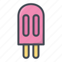 food, ice cream, stickers, sweets icon
