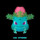 kanto, pokemon, grass, ivysaur