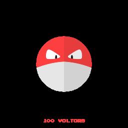 electr, kanto, pokemon, voltorb icon