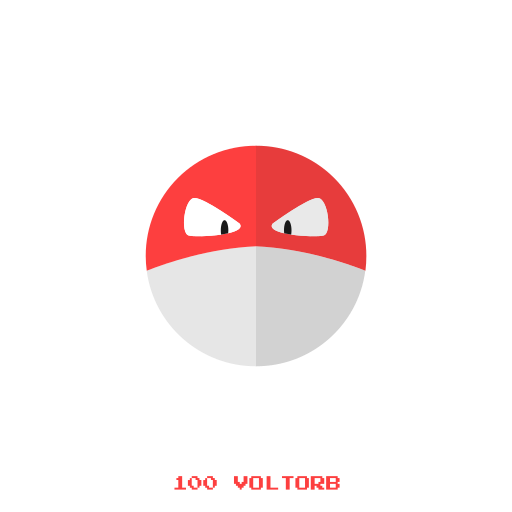 electr, kanto, pokemon, voltorb icon
