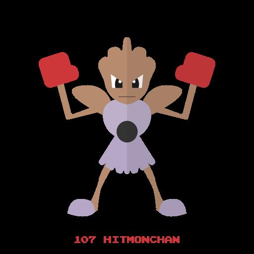 fight, hitmonchan, kanto, pokemon icon