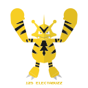 electabuzz, electr, kanto, pokemon icon