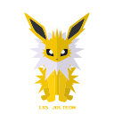electricidad, jolteon, kanto, pokemon icon