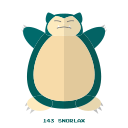 kanto, normal, pokemon, snorlax icon