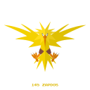 electr, kanto, legendary, pokemon, zapdos icon