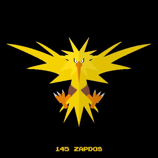 electr, kanto, legendary, pokemon, zapdos icon