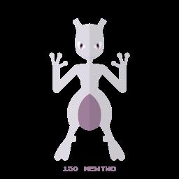 kanto, mewtwo, pokemon, psy icon