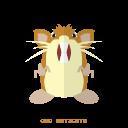 kanto, normal, pokemon, raticate icon